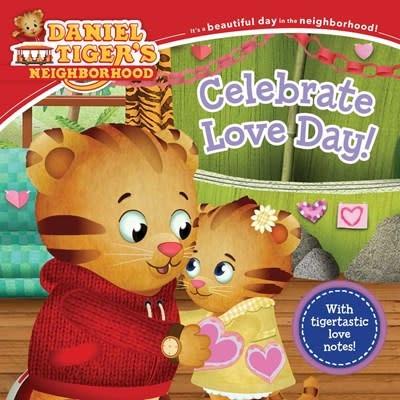 Simon Spotlight Daniel Tiger: Celebrate Love Day!