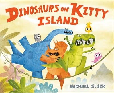 Dial Books Dinosaurs on Kitty Island