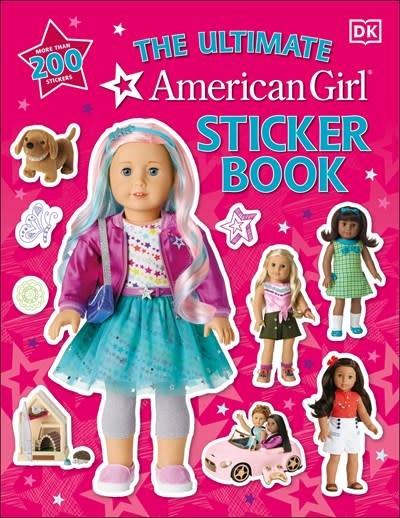 DK Children American Girl Ultimate Sticker Book