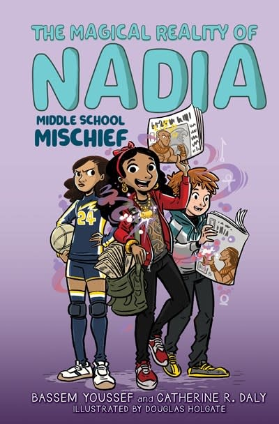 Scholastic Inc. Middle School Mischief (The Magical Reality of Nadia #2)