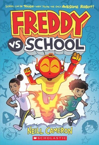 David Fickling Books Freddy vs. School, Book #1