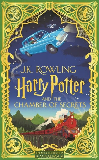 Scholastic Inc. Harry Potter and the Chamber of Secrets (MinaLima Edition) (Illustrated edition)