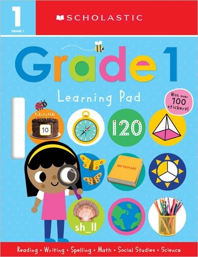Cartwheel Books First Grade Learning Pad: Scholastic Early Learners (Learning Pad)