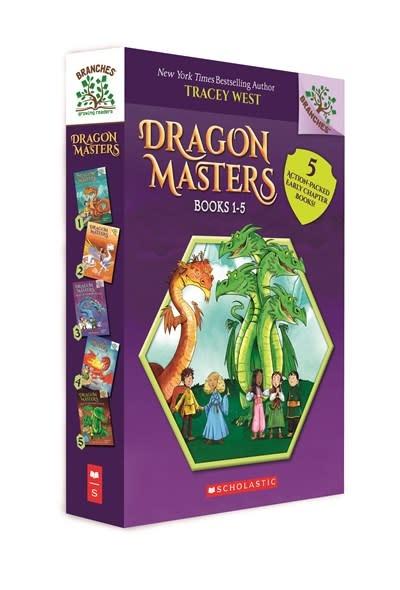 Scholastic Inc. Dragon Masters, Books 1-5: A Branches Box Set