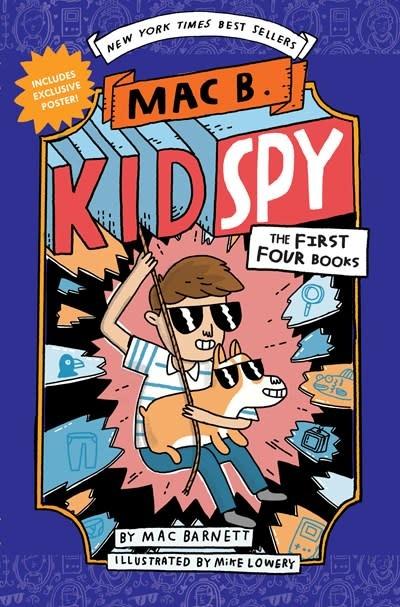 Scholastic Inc. Mac B., Kid Spy Boxset, Books 1-4 (Mac B., Kid Spy)