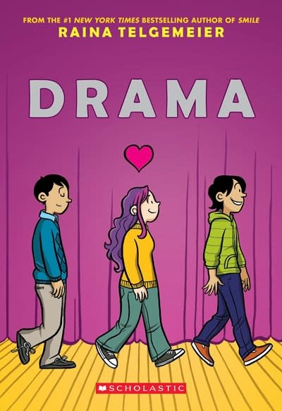 Scholastic Inc. Drama: A Graphic Novel