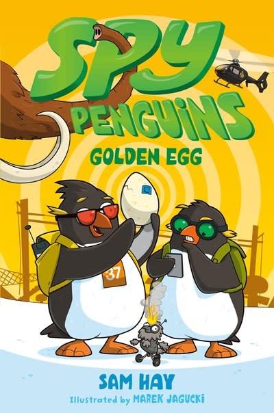 Square Fish Spy Penguins: Golden Egg