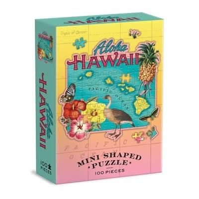 Galison Hawaii Mini Shaped Puzzle