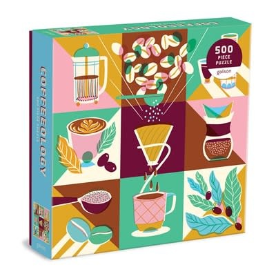 Galison Coffeeology 500 Piece Puzzle