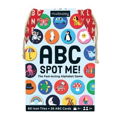 Mudpuppy ABC Spot Me Game