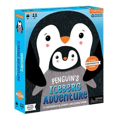 Mudpuppy Penguin's Iceberg Adventure Cooperative Game
