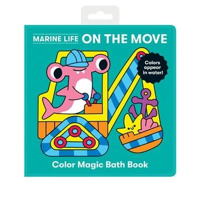 Mudpuppy Marine Life On the Move Color Magic Bath Book