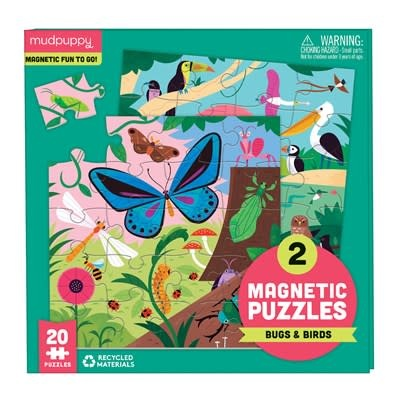 Mudpuppy Bugs & Birds Magnetic Puzzles