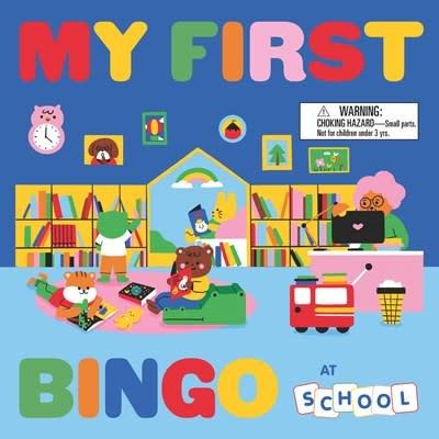 Laurence King Publishing My First Bingo: School