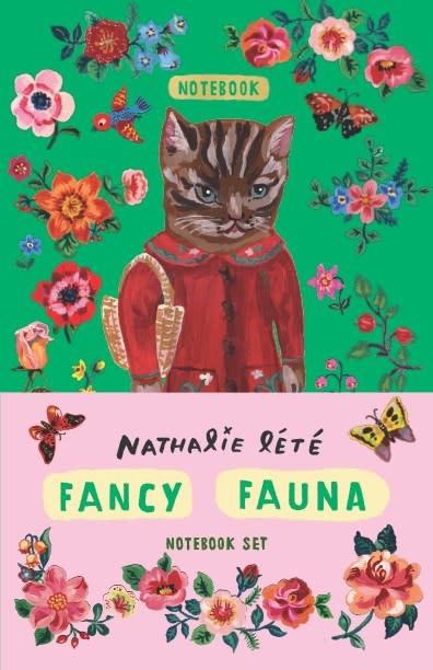 Chronicle Books Fancy Fauna Notebook Set