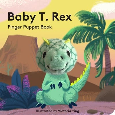Chronicle Books Baby T. Rex: Finger Puppet Book