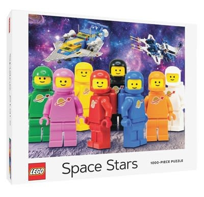 Chronicle Books LEGO Space Stars 1000-Piece Puzzle