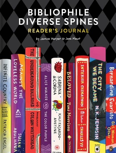 Chronicle Books Bibliophile Diverse Spines Reader's Journal