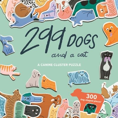 Laurence King Publishing 299 Dogs (and a cat) 300 Piece Puzzle