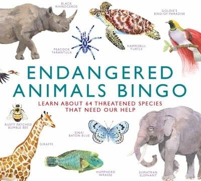Laurence King Publishing Endangered Animals Bingo