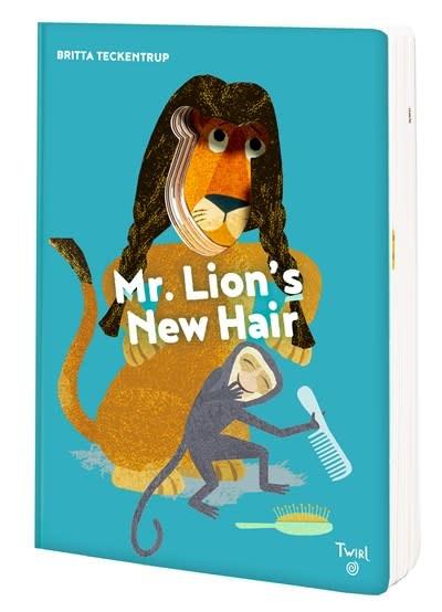 Twirl Mr. Lion's New Hair!