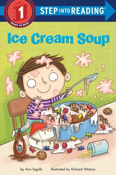 Random House Books for Young Readers Ice Cream Soup  (Step Into Reading)