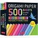 "Tuttle Publishing Origami Paper 500 sheets Rainbow Colors 6"" (15 cm)"