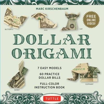 Tuttle Publishing Dollar Origami Kit