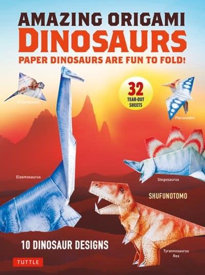 Tuttle Publishing Amazing Origami Dinosaurs