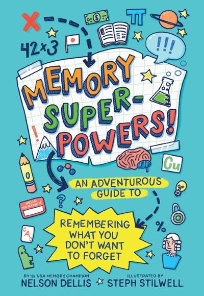Abrams Books for Young Readers Memory Superpowers!