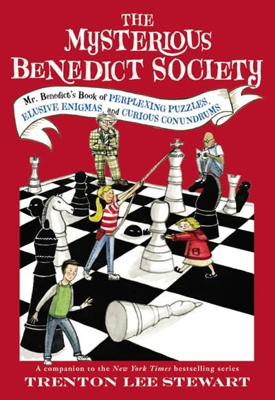 Little, Brown and Company Mysterious Benedict Society: Perplexing Puzzles...