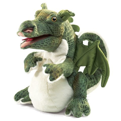 Folkmanis Baby Dragon (Hand Puppet)