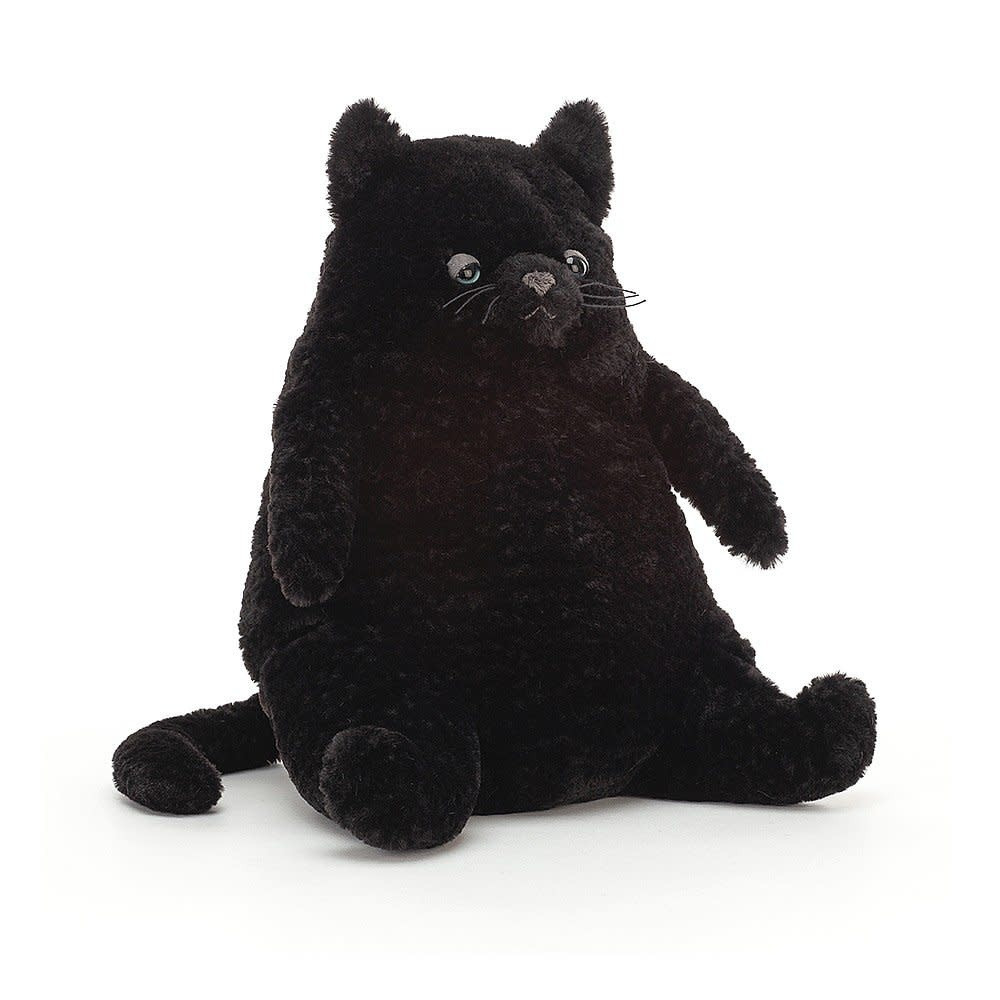 Jellycat Amore Cat Black (Medium Plush)