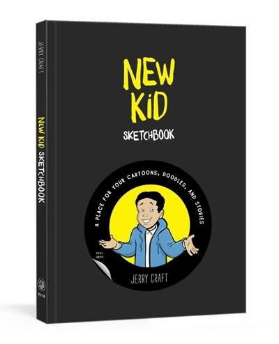 Clarkson Potter New Kid Sketchbook
