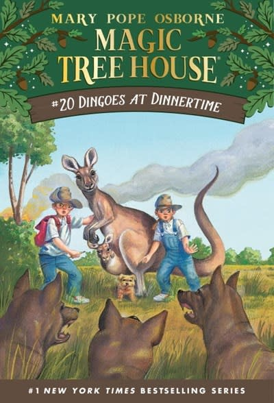 Random House Books for Young Readers Magic Tree House 20 Dingoes at Dinnertime