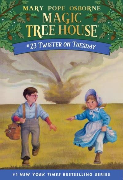 Magic Tree House 23 Twister on Tuesday