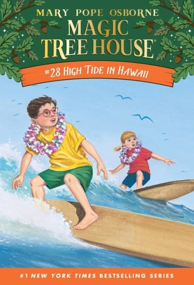 Random House Books for Young Readers Magic Tree House 28 High Tide in Hawaii