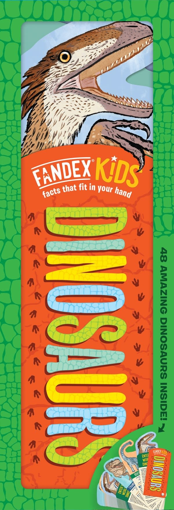 Workman Publishing Company Fandex Kids: Dinosaurs