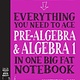 Workman Publishing Company Everything You Need to Ace Pre-Algebra and Algebra I in One Big Fat Notebook