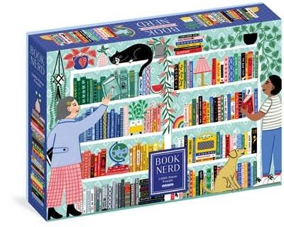 Workman Publishing Company Book Nerd 1,000-Piece Puzzle