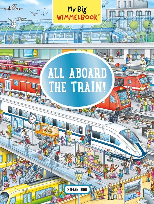 The Experiment My Big Wimmelbook—All Aboard the Train!