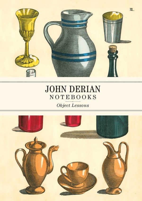Artisan John Derian Paper Goods: Object Lessons Notebooks