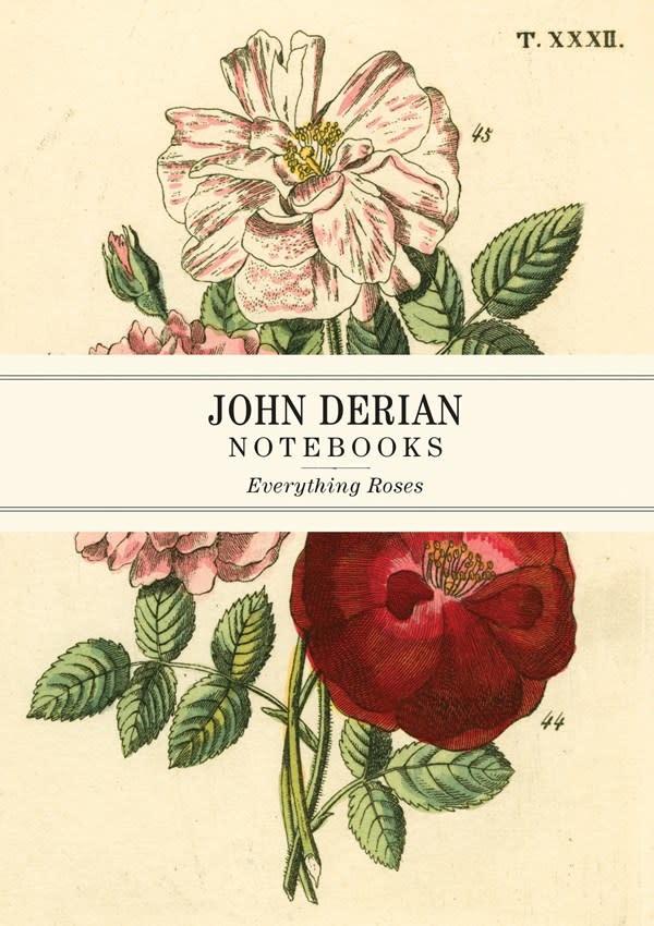 Artisan John Derian Paper Goods: Everything Roses Notebooks