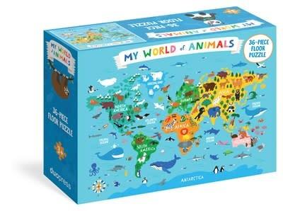 duopress My World of Animals 36-Piece Floor Puzzle