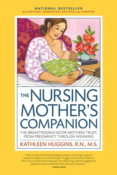 Harvard Common Press Nursing Mother's Companion 8th Edition