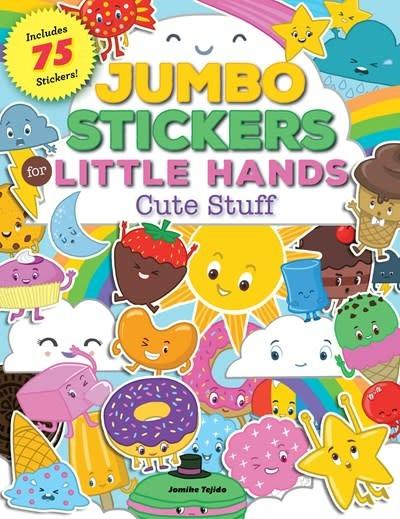 Walter Foster Jr Jumbo Stickers for Little Hands: Cute Stuff