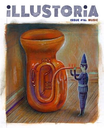 Illustroria Magazine Illustoria: For Creative Kids and Their Grownups: Music