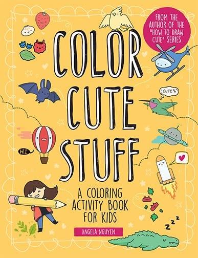 Sterling Children's Books Color Cute Stuff