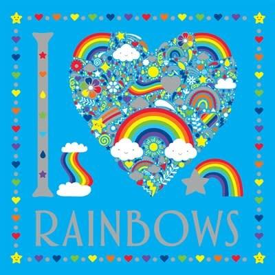 Sterling Children's Books I Heart Rainbows