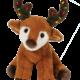 Douglas Toys Brighty Reindeer w/Light Bulb Antlers